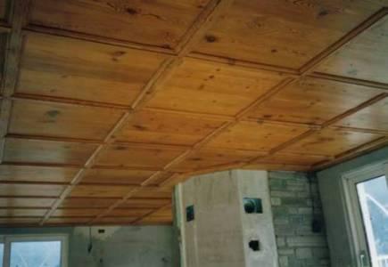 Antike Holzdecken